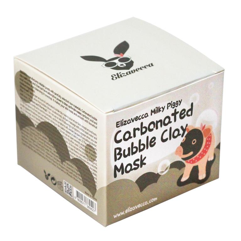 Elizavecca Маска для лица очищающая ПУЗЫРЬКОВАЯ с глиной Сarbonate Bubble Clay Mask, 100 мл