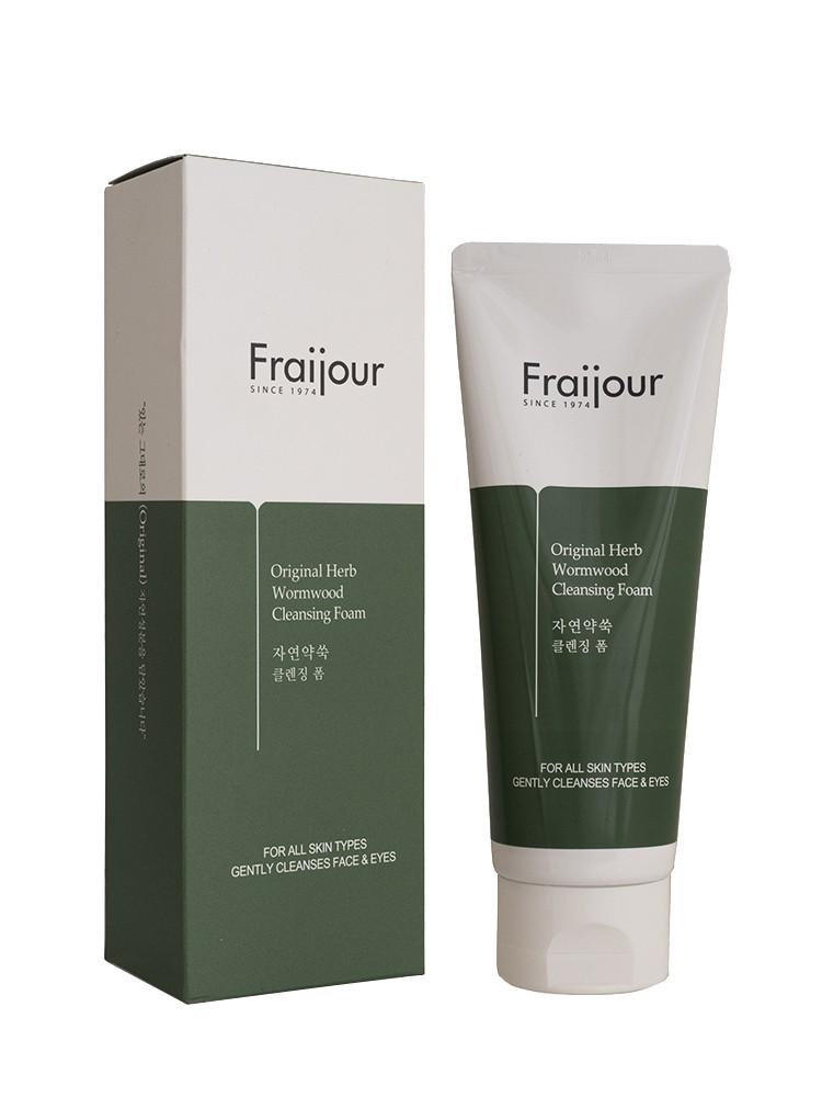 Пенка для умывания с экстрактом полыни  EVAS Fraijour Original Herb Wormwood Cleansing Foam