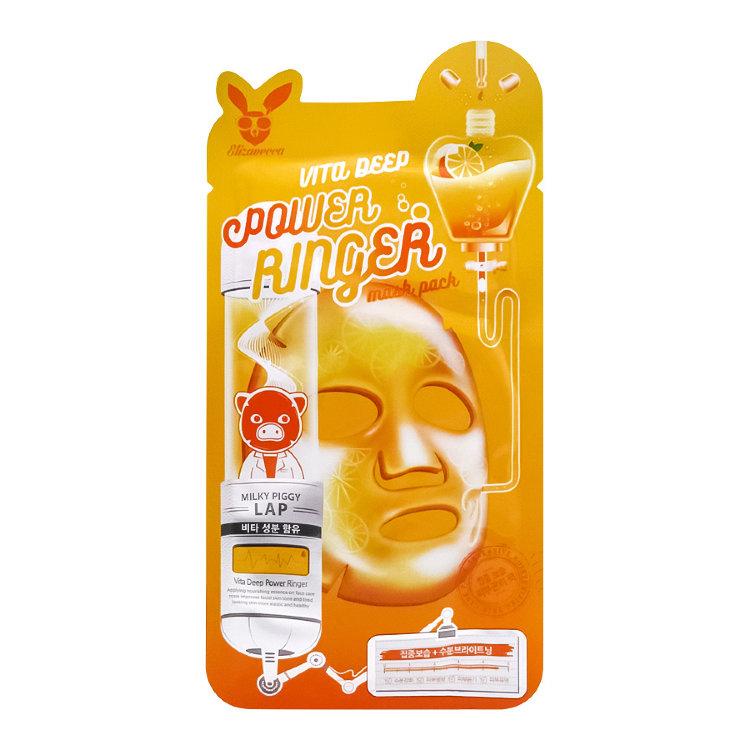 Тканевая маска с витаминным комплексом Vita Deep Power Ringer Mask 23ml Elizavecca
