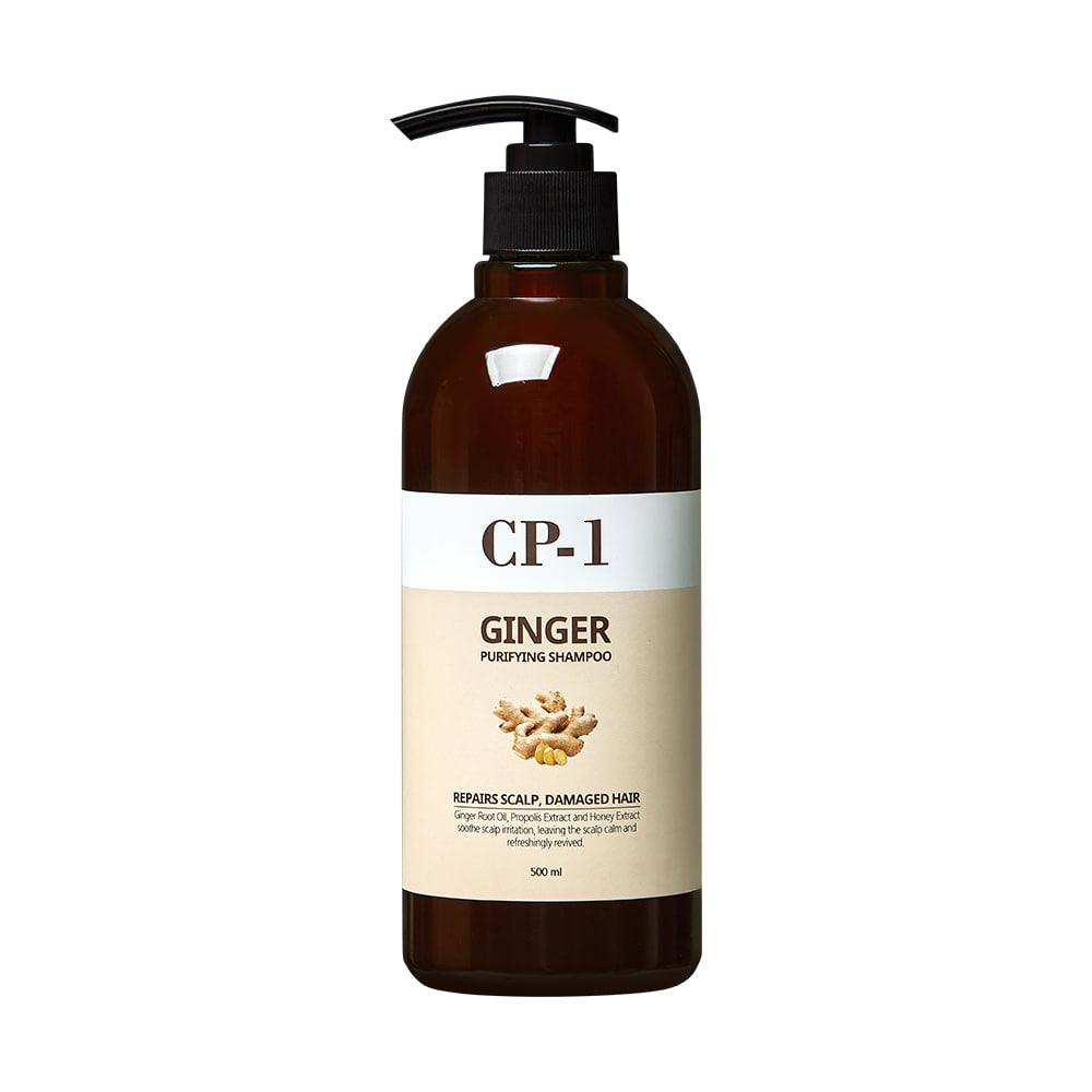 Очищающий шампунь с имбирем - CP-1 Ginger Purifying Shampoo ESTHETIC HOUSE