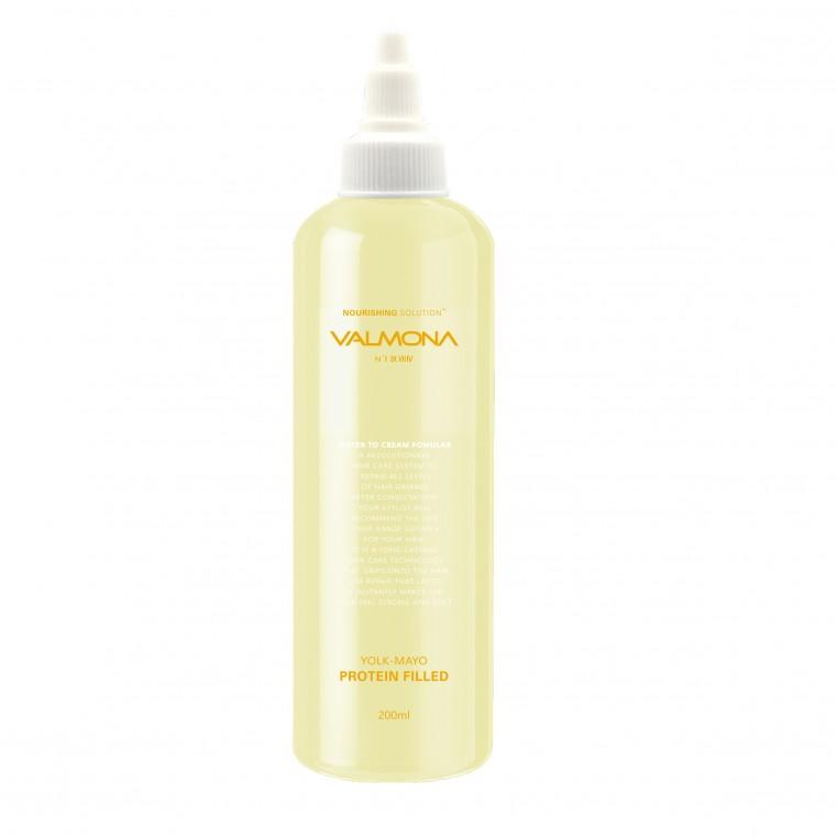 Питательная маска-филлер для волос  EVAS Valmona Nourishing Solution Yolk-Mayo Protein Filled