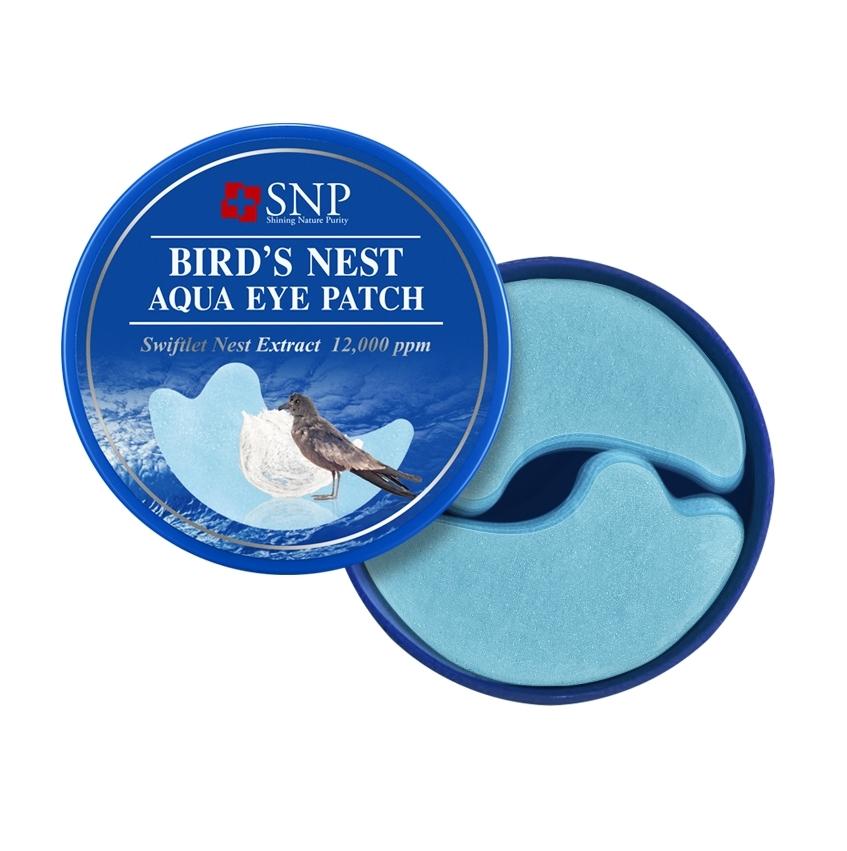Гидрогелевые патчи с экстактом ласточкиного гнезда SNP Birds Nest Aqua Eye Patch