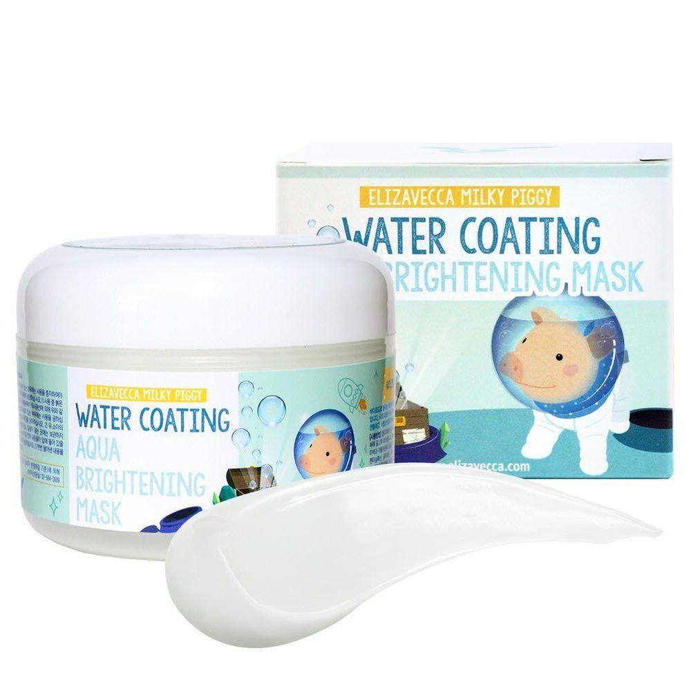 Увлажняющий крем-маска для сияющей кожи Elizavecca Milky Piggy Water Coating Aqua Brightening Mask