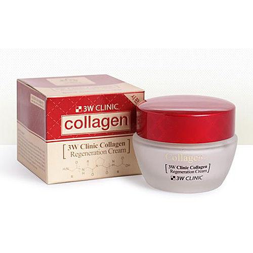 3W CLINIC ЛИФТИНГ Крем для лица с коллагеном регенерирующий Collagen Regeneration Cream, 60 мл