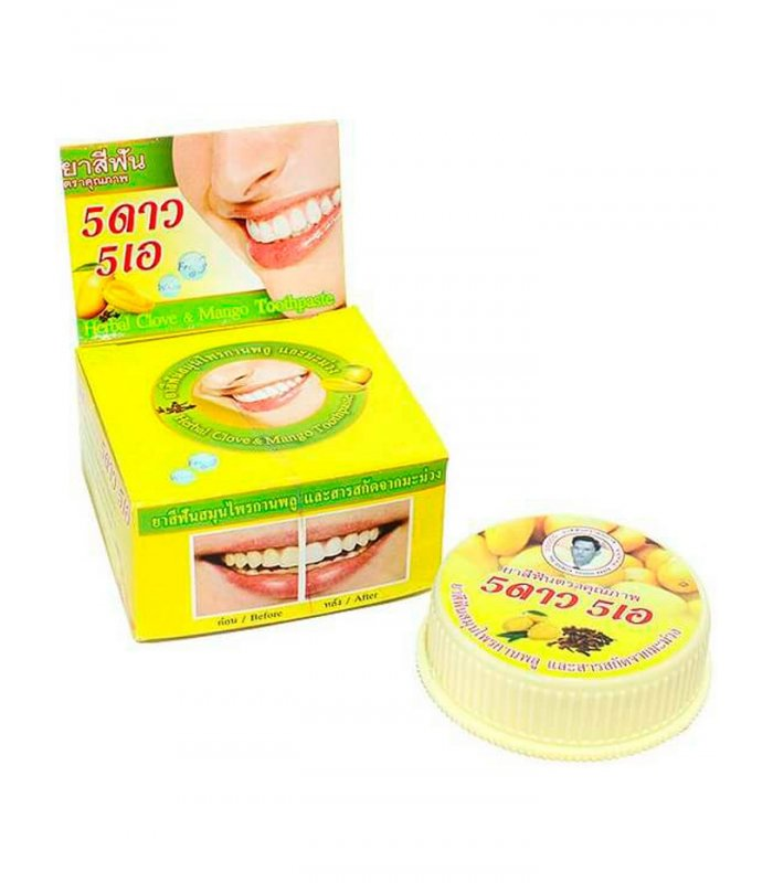Зубная паста 5 stars манго