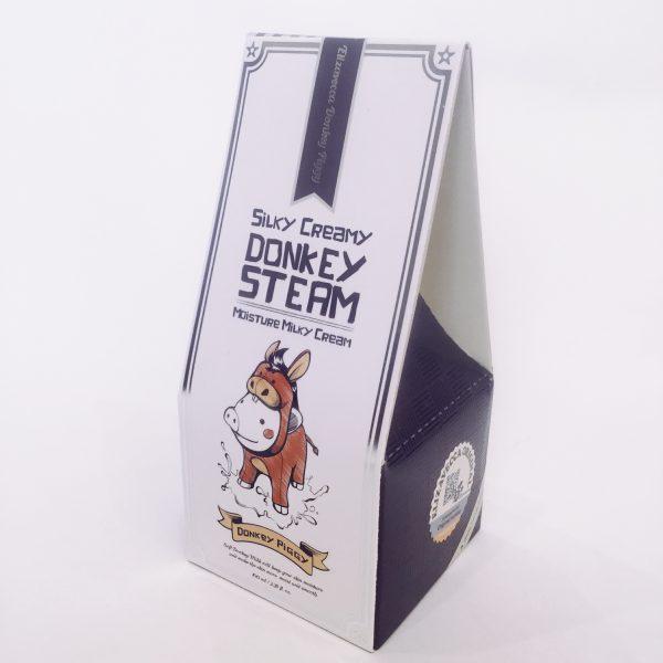 Увлажняющий паровой крем Elizavecca Silky Creamy Donkey Steam Moisture Milky Cream