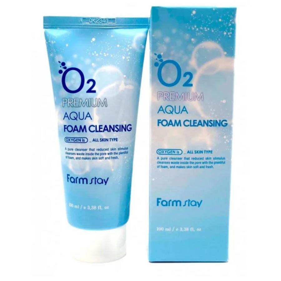 Пенка очищающая FarmStay Premium Foam Cleansing