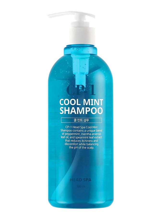 Освежающий шампунь с ментолом для проблемной кожи головы Esthetic House CP-1 Head Spa Cool Mint Shampoo