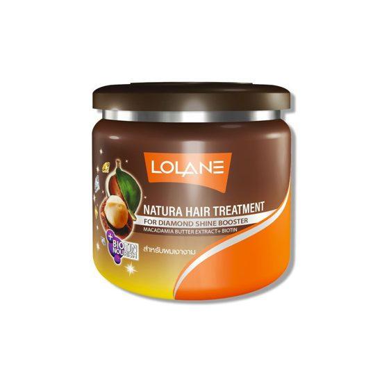 Питательная маска для блеска волос с маслом Макадамии