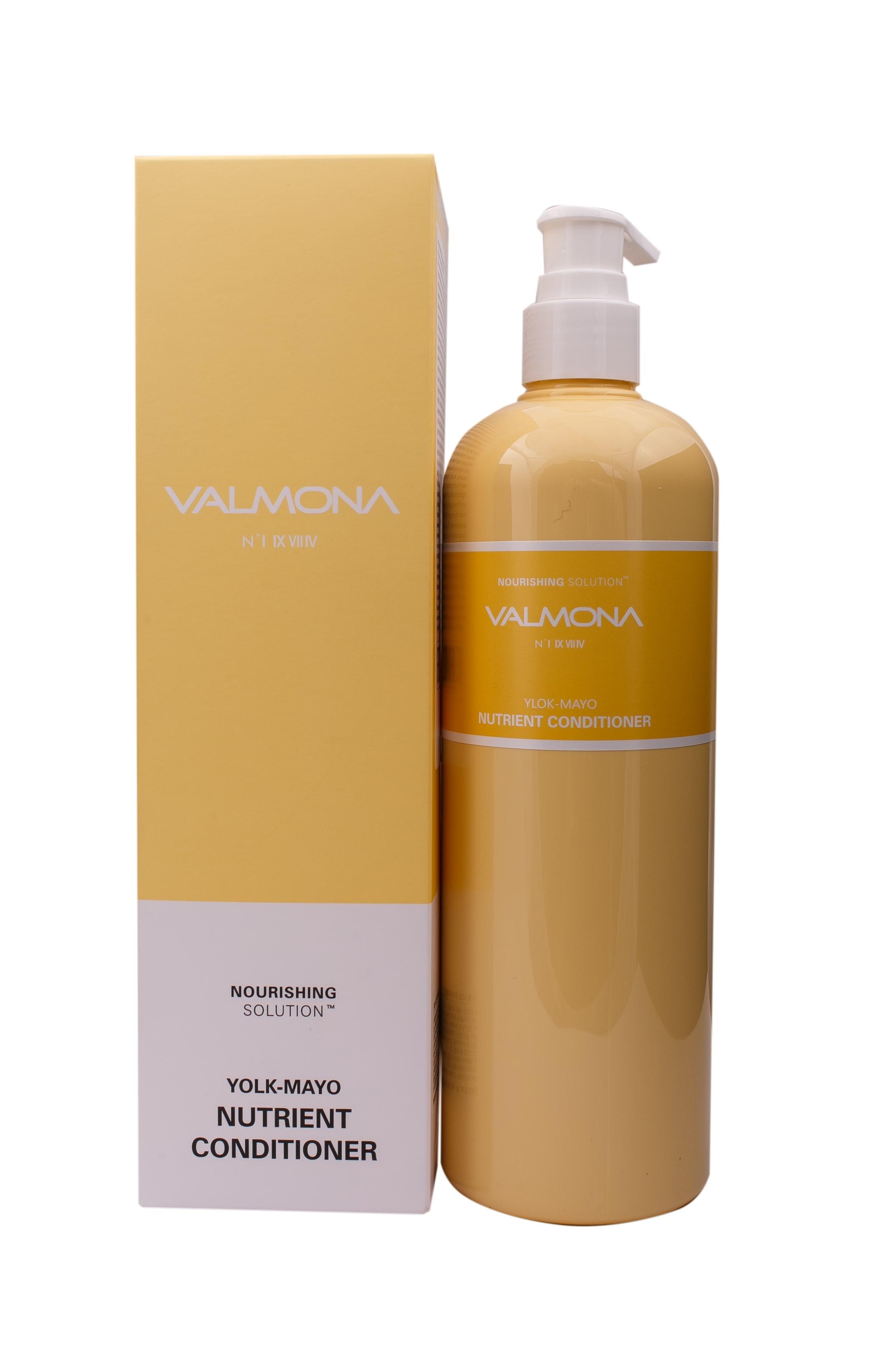 Питательный кондиционер с яичным желтком Valmona Nourishing Solution Yolk-Mayo Nutrient Conditioner, 480 мл