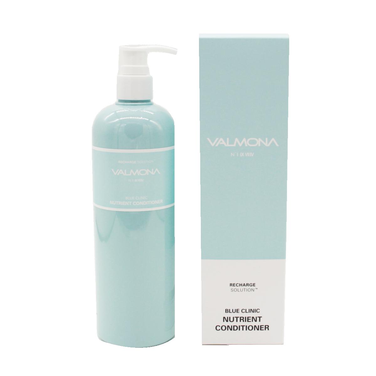 Кондиционер для волос увлажнение Valmona Recharge Solution Blue Clinic Nutrient Conditioner 480мл