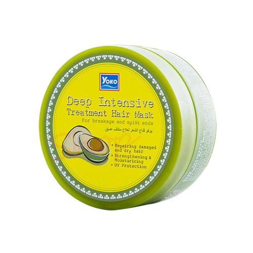 Тайская интенсивная лечебная маска для волос с авокадо YOKO