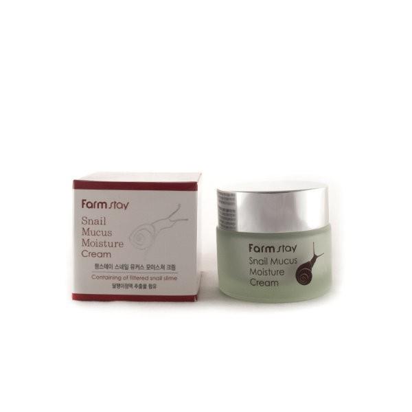 Увлажняющий крем с улиткой FarmStay Snail Mucus Moisture Cream
