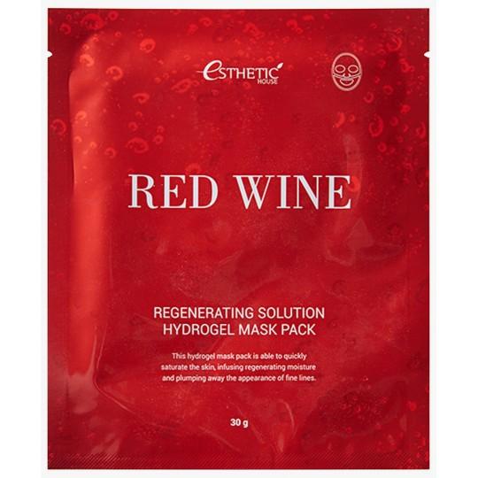 Гидрогелевая маска с экстрактом красного вина ESTHETIC HOUSE RED WINE