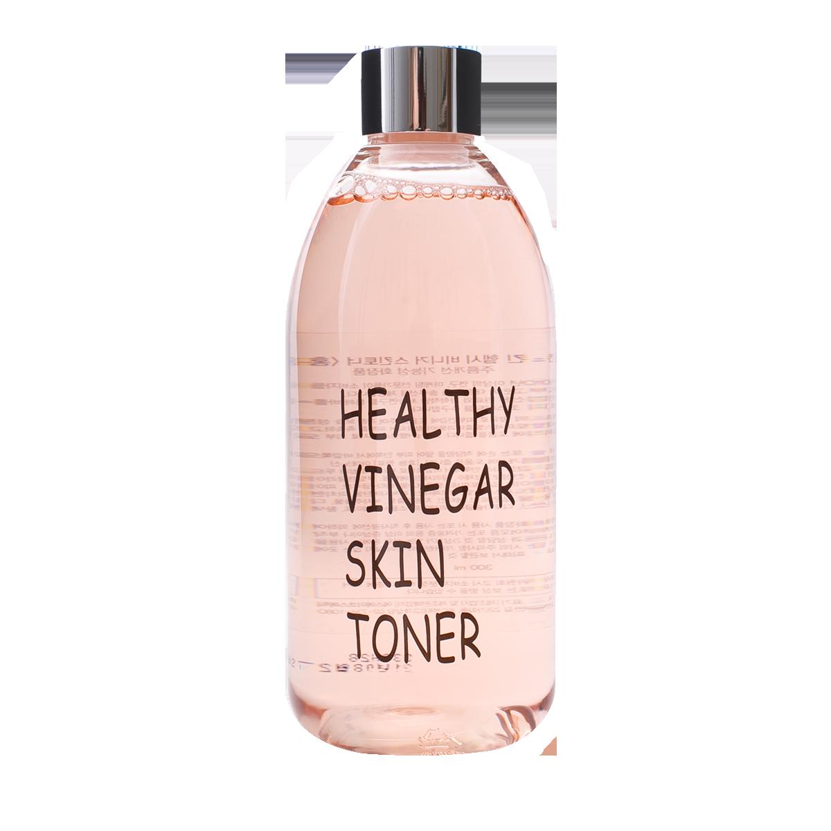 Тонер для лица КРАСНЫЙ ЖЕНЬШЕНЬ Healthy vinegar skin toner REALSKIN