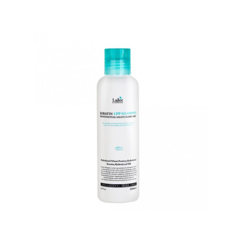 Профессиональный шампунь для ухода за волосами до и после завивки или окрашивания Keratin LPP Shampoo
