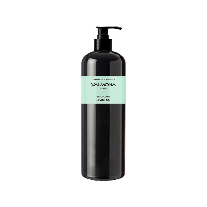 VALMONA Шампунь для волос АЮРВЕДА Ayurvedic Scalp Solution Black Cumin Shampoo 480мл