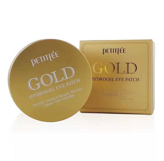 PETITFEE Набор патчей для век гидрогелевые ЗОЛОТО Gold Hydrogel Eye Patch, 60 шт