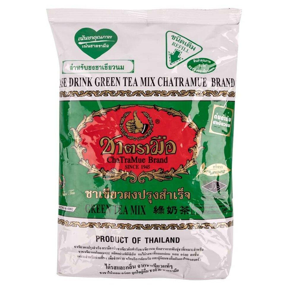 Молочный изумрудный зеленый чай из Таиланда
