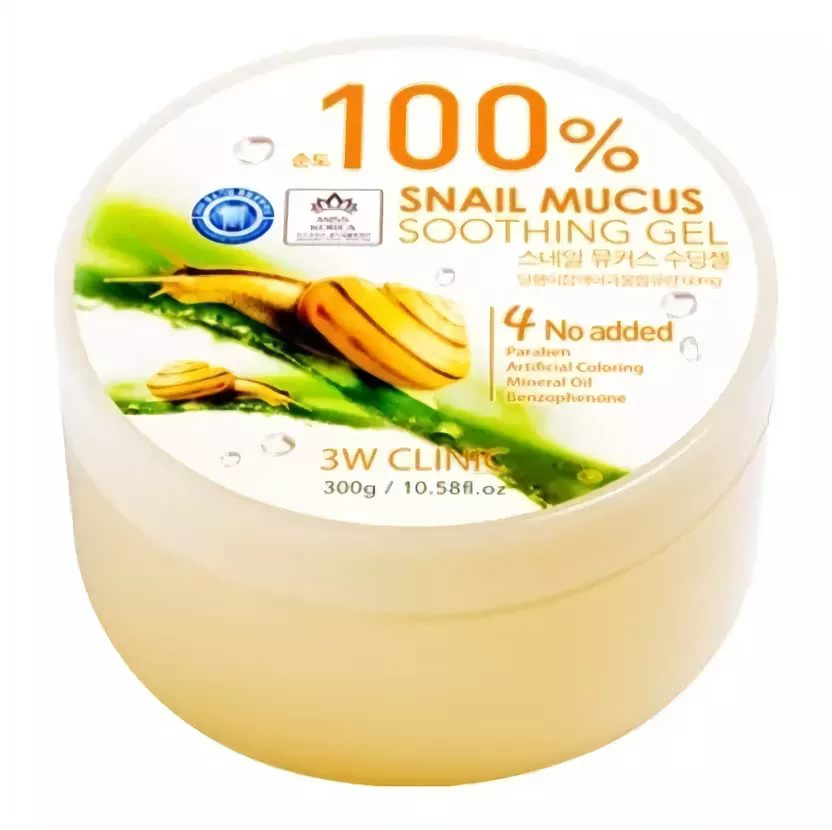 Гель универсальный УЛИТОЧНЫЙ МУЦИН Snail Soothing Gel 100%, 300 гр