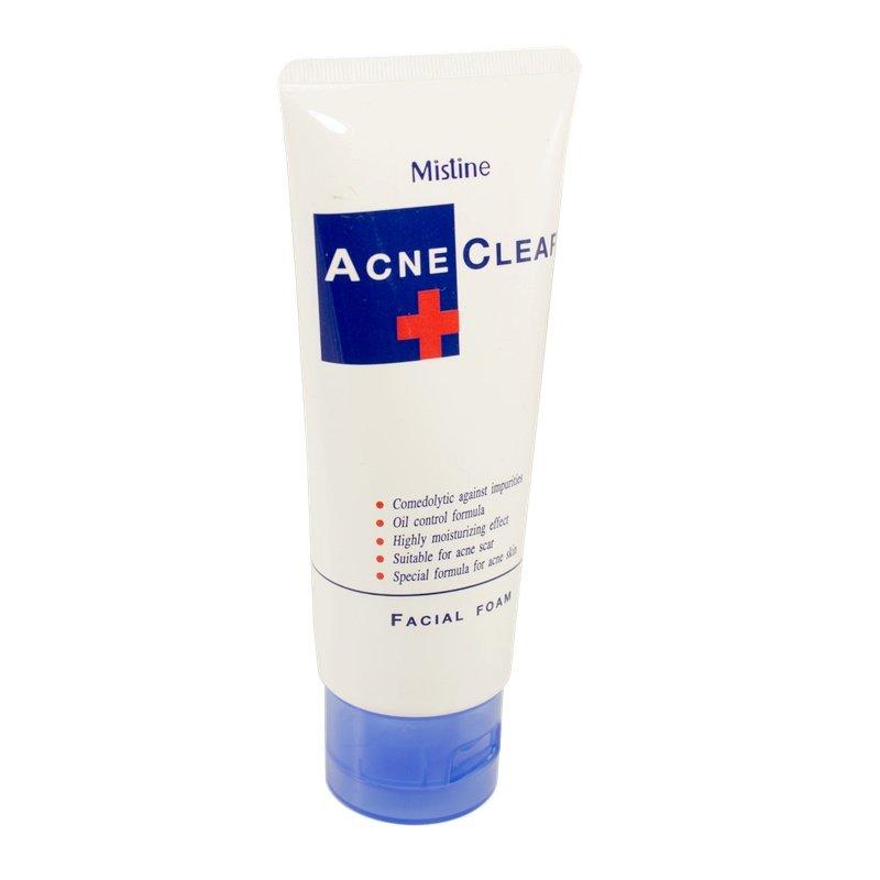 Пенка для умывания лица для проблемной кожи Mistine Acne Clear (Facial foam) (85 мл.)