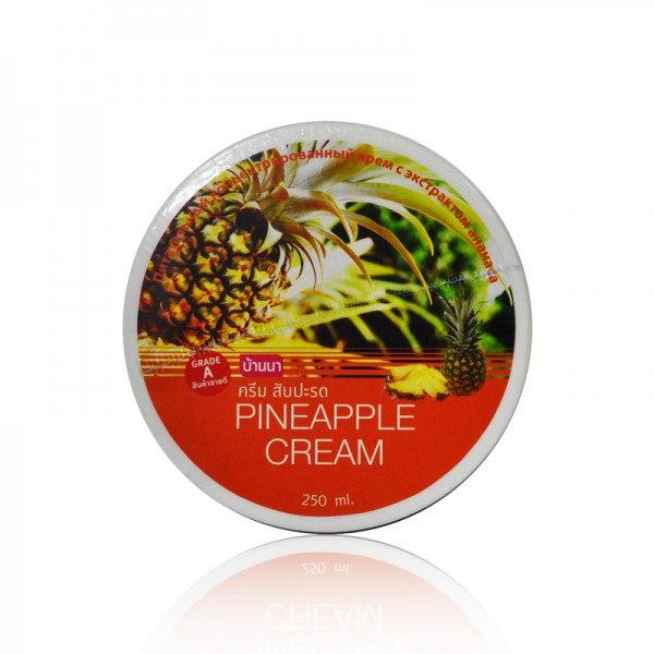 BANNA Pineapple Cream / Ананасовый крем для тела (250 мл)