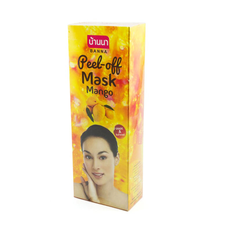 BANNA Peel Off Mask Mango / Маска-пленка для лица с экстрактом манго (120 мл)