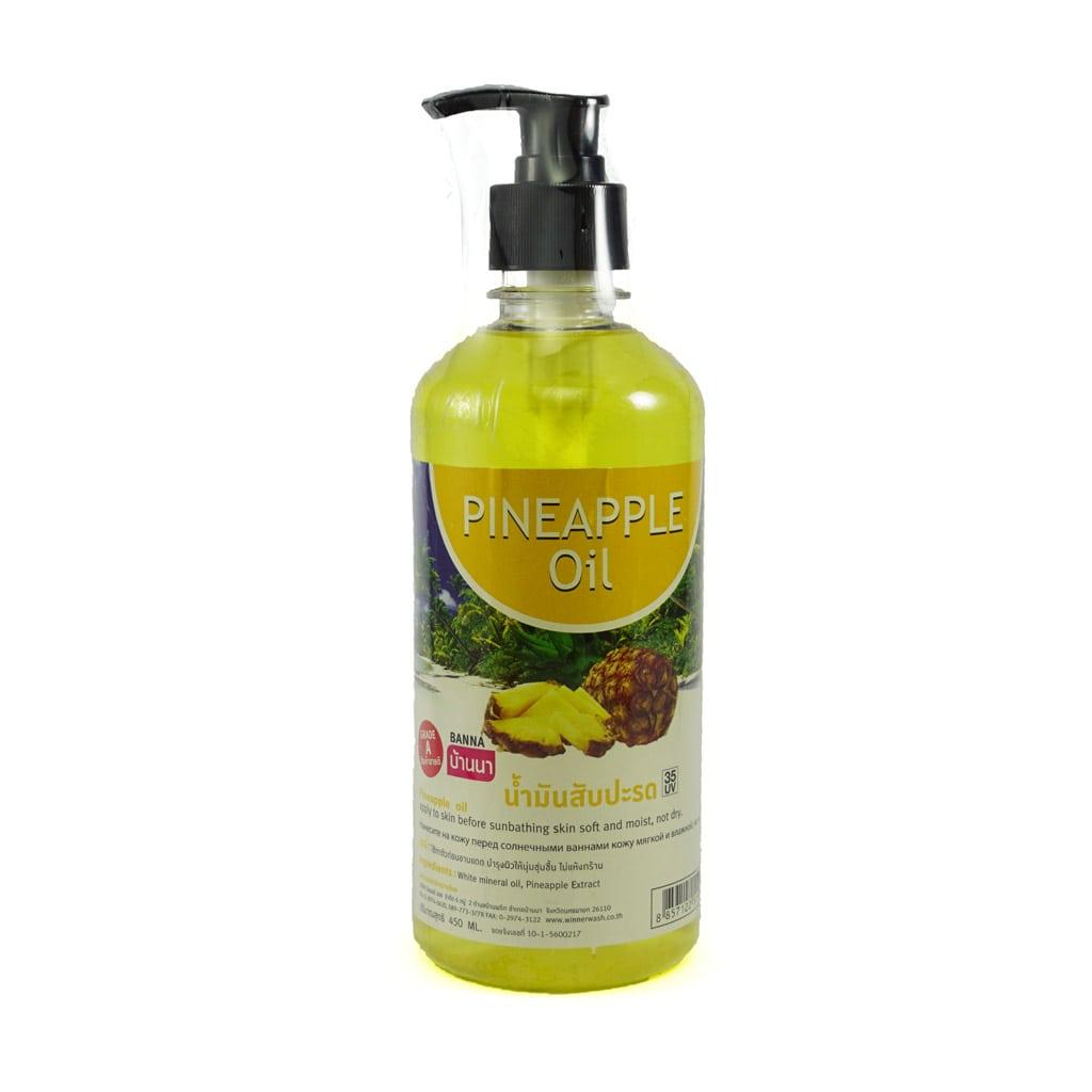 BANNA Pineapple Oil / Массажное масло
